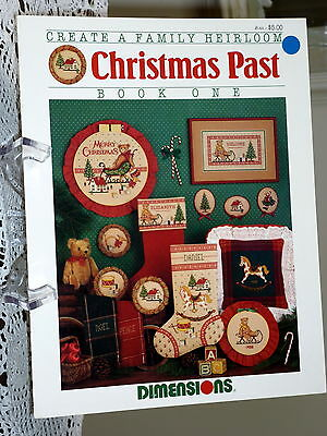 Christmas Past Book 1-  Counted Cross Stitch Patterns by Dimensions