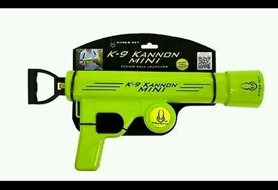K-9 KANNON MINI TENNIS BALL LAUNCHER PLAY FETCH WITH YOUR DOG FOR HOURS