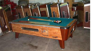 VALLEY COUGAR COMMERCIAL 7' COIN-OPERATED BAR SIZE POOL TABLE