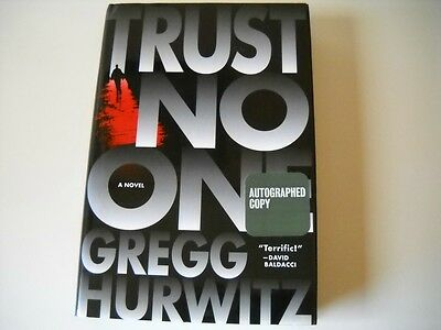 "Gregg Hurwitz SIGNED ""Trust No One"" (Hardcover 1st/1st)"