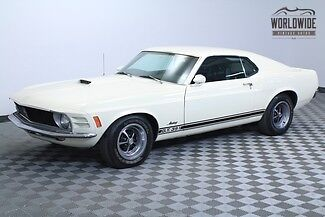 Ford : Mustang Fastback 1970 ford mustang v 8 auto wimbledon white drive anywhere