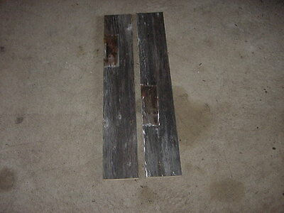 2 Vintage Barn Boards Reclaimed Lumber 100+ Year Old Wood 34 X 5 Lot31 Primitive