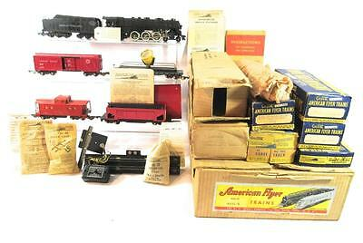 AMERICAN FLYER NYC HUDSON FREIGHT TRAIN SET 4611A, ALL BOXES AND SETBOX, 322