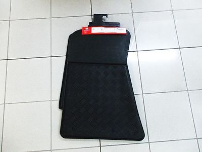 VY VZ Commodore Black rubber Floor Mats Front Set of 2 Genuine Holden New
