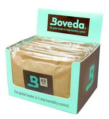 Boveda 62% 60 Gram 2-Way Humidifier Packs Humidpak Case of 12