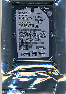 HITACHI Endurastar 40GB Hard Drive FOR  AUTOMOTIVE GPS HEJ425040F9AT00