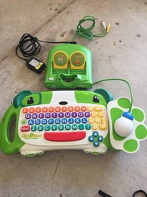 Leap Frog Click Start My First Computer Plus 2 Games
