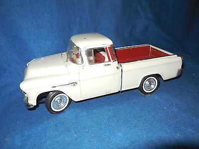 +]025American Muscle 1:18 Scale 1955 CHEVY CAMEO Pick up Truck DIecast  Steering