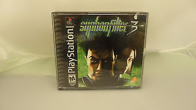 Syphon Filter 3  (Sony PlayStation 1, 2001) Complete