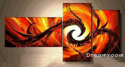 P179 3PCS Hand painted Oil Canvas Art Home Decor Modern Abstract NO Frame