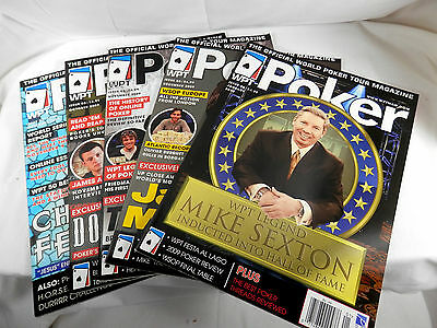 WPT Poker Magazines - Lot of 5 - Back Issues .