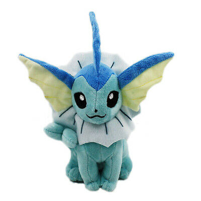 16CM Pokemon Vaporeon Plush Doll Stuffed Toys For Kids Gift