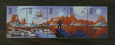 Space Discovery Five 32 cents Brand New Unused Stamps Scott 3238 - 3242