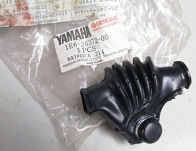 77-83 Yamaha XS400 XS650 XS850 OEM Left Clutch Lever Boot Cover NOS 1E6-26372-00