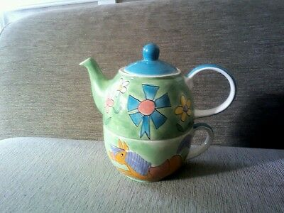 Teapot For One From The Pier.