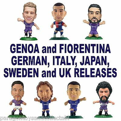 FIORENTINA / GENOA MicroStars -Japan, Italian, German, Sweden and UK Releases