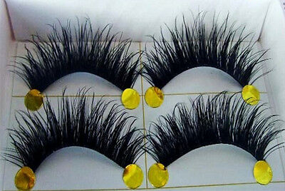 BEST! 5 Pairs Long Thick Handmade Makeup Fake False Eyelashes Eye Lashes