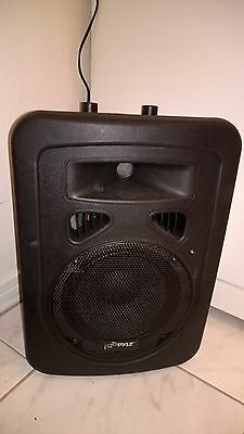 Pyle-Pro PPHP898A 400 Watts 8'' 2-Way Plastic Molded Powered/Amplified Speaker