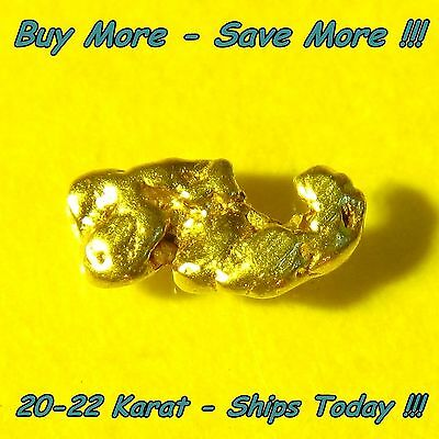 Alaskan Placer Gold Nugget Flake Fines .123 Gram From Alaska Bering Sea Natural