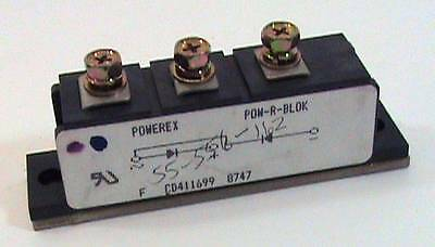 New Powerex CD411699 8747 Isolated Module Diode Bridge NOS