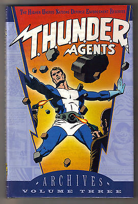 DC Thunder Agents Archives Edition Vol 3 FS Hardcover  Wally Wood T.H.U.N.D.E.R.