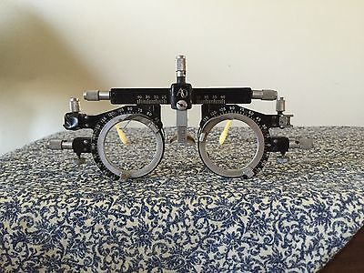 Antique RX AMERICAN OPTICAL Trial Lens Frame Steampunk Goggles Glasses Vintage