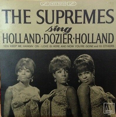 THE SUPREMES Sing Holland Dozier Holland vinyl LP record - Diana Ross