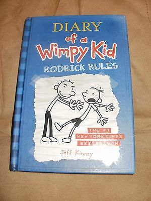 Diary if a Wimpy Kid Rodrick Rules by Jeff Kinney (2008, Hardcover)
