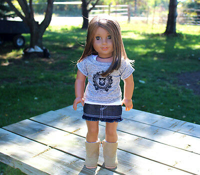 """CUTE DOLL CLOTHES FITS 18"""" AMERICAN GIRL DOLL - LOT OF 3 PC - O1101 -"""