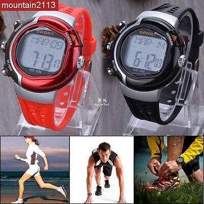 New Sport Keep Fit Calories Counter Fitness Heartbeat Pulse Heart Rate 6V7