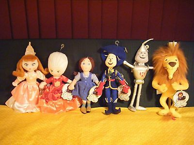 Legends of Oz Dorothy's Return 2014 Madame Alexander set of 6 Plush Dolls