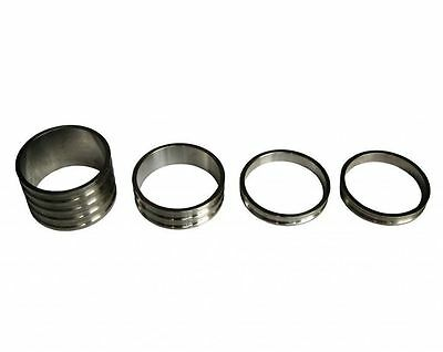 """Free shipping Titanium Spacers for Headset stem 1-1/8"""" 4pcs(20-10-5-5mm)"""