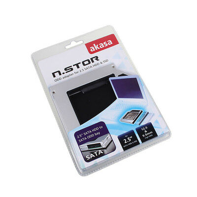 Akasa N.Stor 2,5 Zoll SATA HDD to Laptop IDE ODD Bay