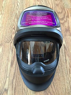 Speedglas 9100FX Brand New Weld Tig Stick Mig Fab Grind Cut Miller Lincoln Pipe