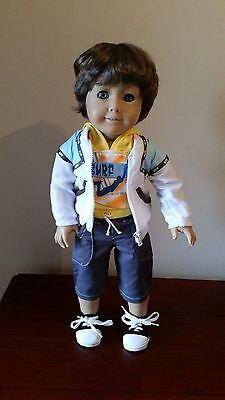 "American Girl 18"" Custom OOAK Dressed •BOY• Brother Doll 4 any AG doll"