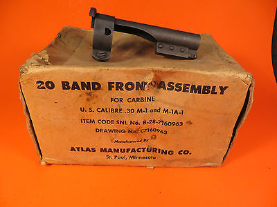 M1 Carbine Parts - Barrel Band - Atlas Mfg. - AMCO Marked