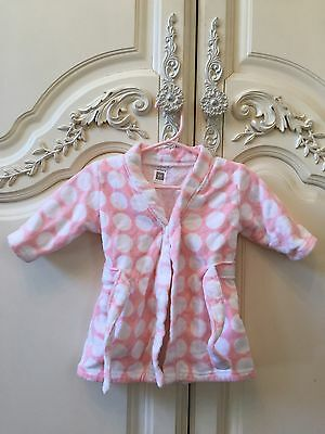 NWOT Carter's Baby Girl Bath Robe Hoodie Size OS Shower Gift