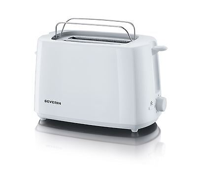 Severin Automatic 2 Slice White Toaster With Baking Attachment + Browing Sensor
