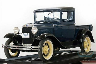 Ford : Model A Great running and driving pre-war Ford truck 1930 model a pickup restored classic truck rust free correct