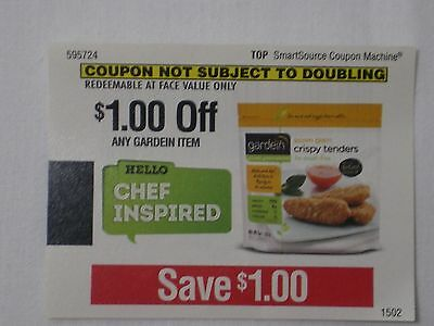 (10) Coupons To Save $1 On Any GARDEIN Brand Item exp 4/30/15