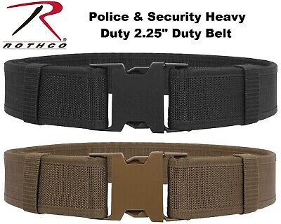Black & Coyote Police Security Military Tactical Duty Belt 10570 - 10571 Rothco