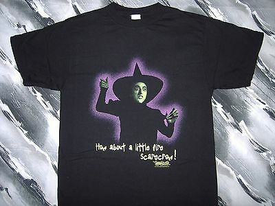 Wicked Witch of the West Wizard of Oz T-shirt (1997) Large, Never Worn!