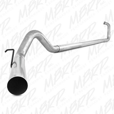 """MBRP 4"""" Turbo Back Straight Pipe Exhaust 03-07 Ford Powerstroke F250/F350 6.0L"""