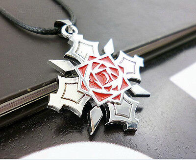 New Vampire Knight Steel kuran Yuuki Pendant Necklace Anime Cosplay Silver Color