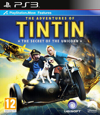 The Adventures of Tintin The Secret of the Unicorn ~ PS3 (in Great Condition)