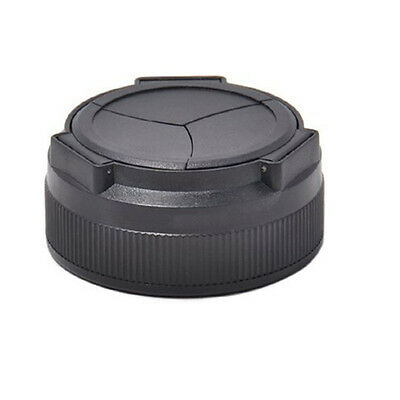 DSLR Black PC Lens Cover Camera Auto Lens Cap Cover for Canon PowerShot G1X