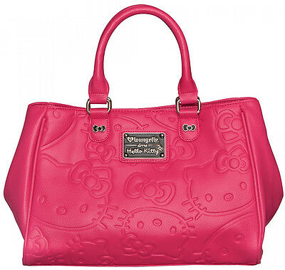 Loungefly Hello Kitty Pink Embossed Tote- NWT