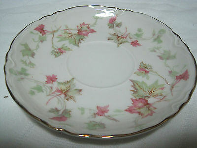 "Hutschenreuther Selb MADE IN Bavaria PASCO The Maple Leaf Saucer 5 5/8"" Lot of 8"