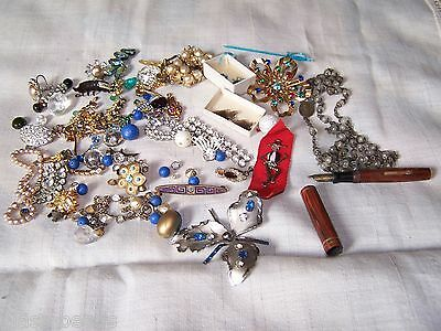 Mixed lot Of Junk Jewelry For Repairs