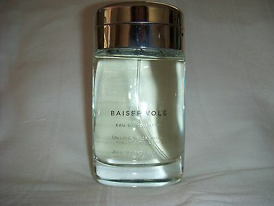 BAISER VOLE BY CARTIER EDT 3.3 OZ., 100ML. THIS IS THE VERY NEWEST!